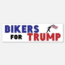 Bikers For Trump (bumper) Bumper Bumper Bumper Sticker