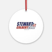 Stewart / Colbert 2008 - Ornament (Round)