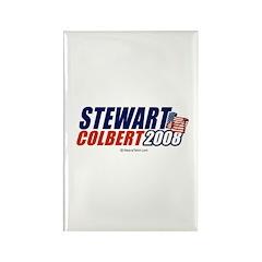 Stewart / Colbert 2008 - Rectangle Magnet