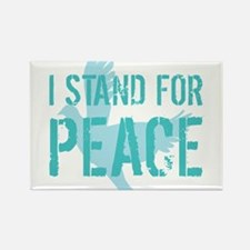 I Stand For Peace Rectangle Magnet