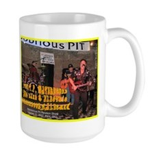 T.P.-Mobobrious Pit, Kent '07  Large Coffee Mug