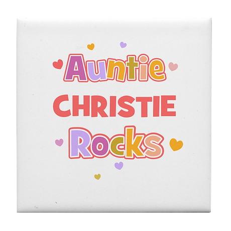 Christie Tile Coaster