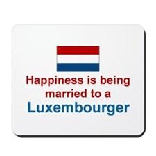 Luxembourg-Married Mousepad