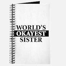 Cute Sister birthday Journal