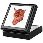 Bengal Tabby Cat Keepsake Box