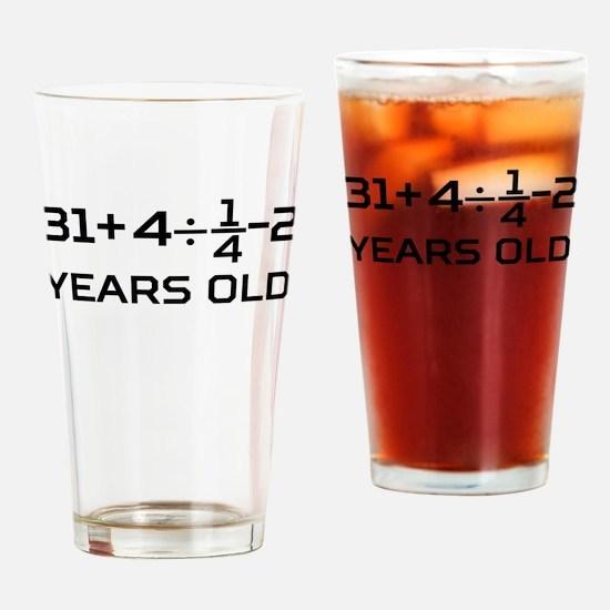 45th Birthday Algebra Equation Drinking Glass