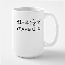 45th Birthday Algebra Equation Mugs