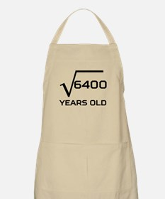 Square Root 80 Years Old Apron