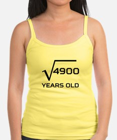 Square Root 70 Years Old Tank Top