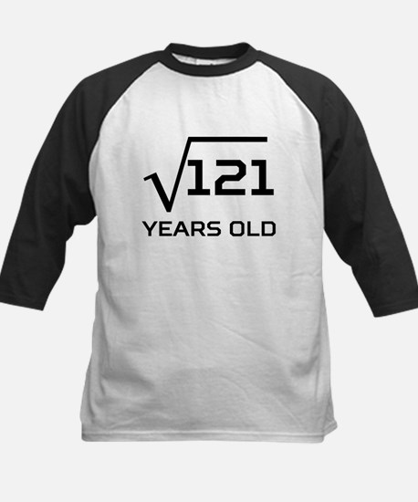 Square Root 11 Years Old Baseball Jersey