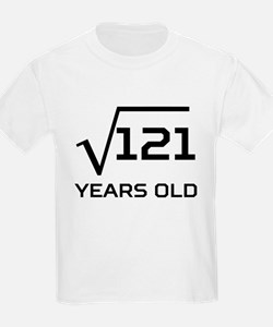 Square Root 11 Years Old T-Shirt