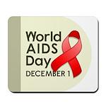 World AIDS Day Mousepad