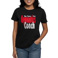 Gymnastics Coach Red Tee