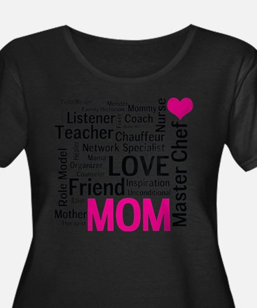 Mothers Day or Mom's Birthday Plus Size T-Shirt