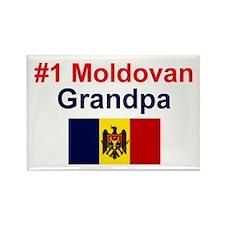 Moldovan Grandpa Rectangle Magnet
