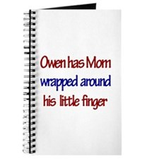 Owen - Mom Wrapped Around Fi Journal