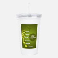 Not an argument Acrylic Double-wall Tumbler