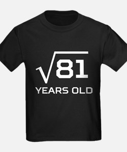 Square Root 9 Years Old T-Shirt