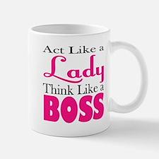 think like a boss Mugs