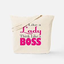 think like a boss Tote Bag