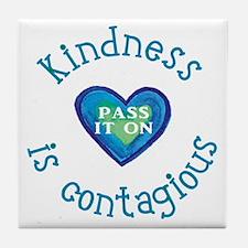 Kindness--Pass it On Tile Coaster