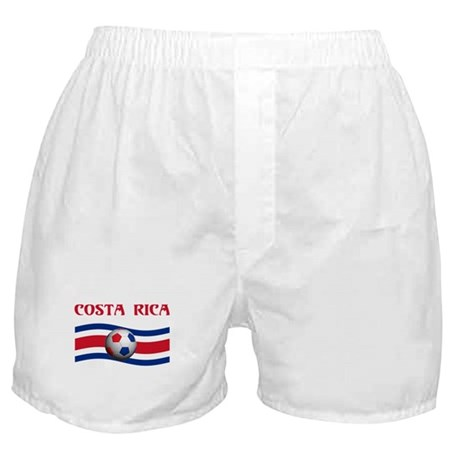 TEAM COSTA RICA WORLD CUP Boxer Shorts