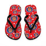 Donald president Flip Flops