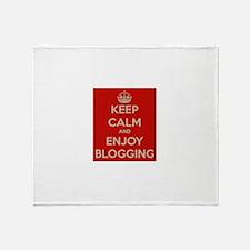 Unique No blogging Throw Blanket