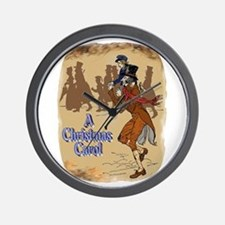 Tiny Tim and Bob Cratchit Wall Clock