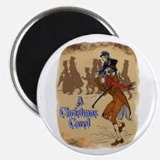 """Tiny Tim and Bob Cratchit 2.25"""" Magnet (10 pack)"""