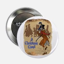 "Tiny Tim and Bob Cratchit 2.25"" Button"