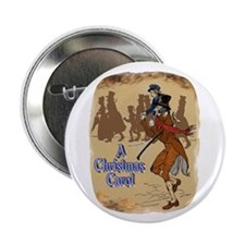 "Tiny Tim and Bob Cratchit 2.25"" Button (10 pack)"