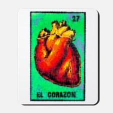 El Corazon Mousepad