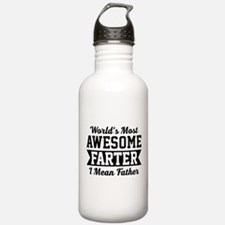 Awesome Farter Funny Dad Water Bottle