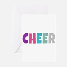 Cheer Rainbow Glitter Greeting Cards