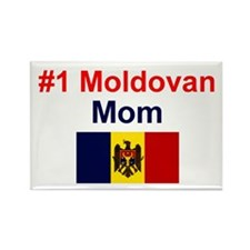 Moldovan #1 Mom Rectangle Magnet
