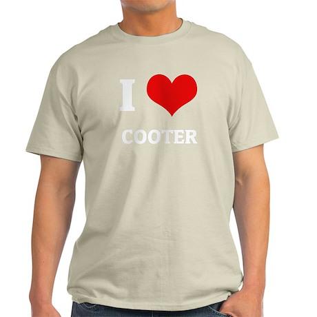 I Love Cooter Black T-Shirt