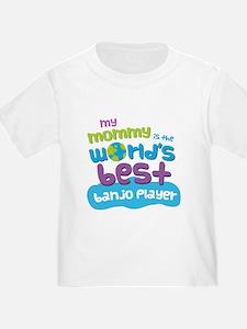 Banjo Player Gift for Kids T