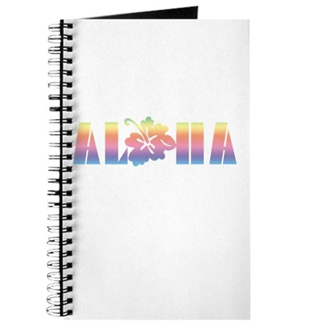 Aloha with Hibiscus Journal