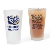 Actuary Pint Glasses