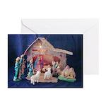 Classic Nativity Christmas Card