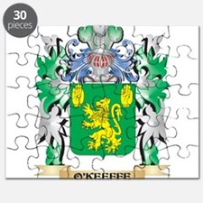 O'Keeffe Coat of Arms - Family Crest Puzzle