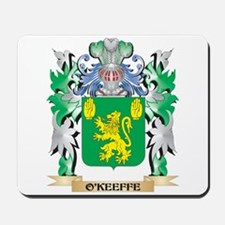 O'Keeffe Coat of Arms - Family Crest Mousepad