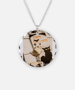 Halloween Cats Necklace