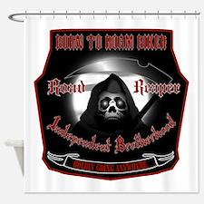 Born To Roam Reaper Shower Curtain