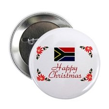 """S Africa-Christmas 2.25"""" Button"""