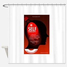 Self-Concept Shower Curtain