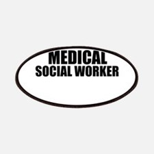 Trust Me, I'm A Medical Social Worker Patch