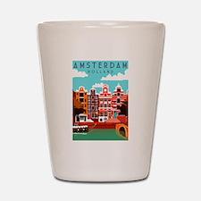 Amsterdam Holland Travel Shot Glass