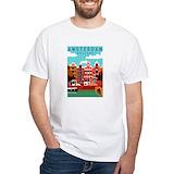 Amsterdam Mens White T-shirts